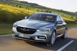 Gm Opel 2017 Opel Insignia B Rendered Based On Buick Design
