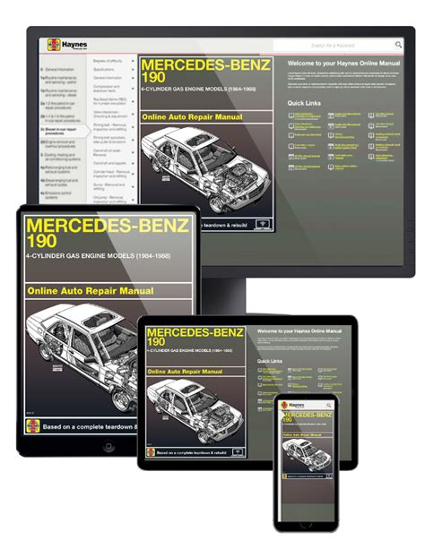 online car repair manuals free 1984 mercedes benz sl class electronic toll collection mercedes benz 190 series online service manual 1984 1988