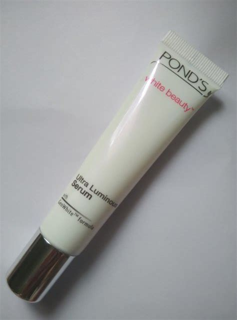 Serum Ponds Flowles White pond s white ultra luminous serum review
