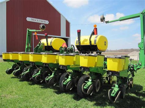 Deere 20 Inch Row Planter by Used Deere Planter Values Spike Higher
