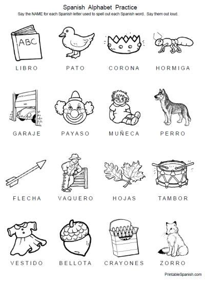 printable worksheets for kindergarten in spanish free 8 page printable packet spanish alphabet practice