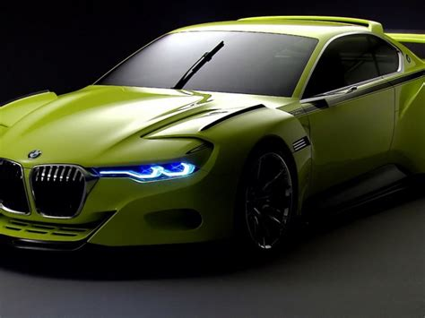 Light Green Bmw Neon Lights Wallpapers And Images
