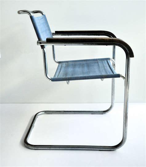 Breuer Armchair by Marcel Breuer Tubular Steel Armchair For Thonet Bauhaus