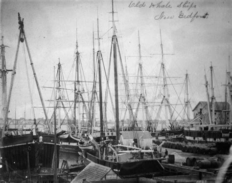 whaling vessels at new bedford massachusetts