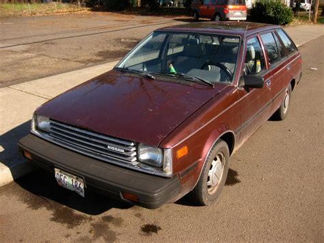 nissan datsun 1983 parked cars 1983 datsun nissan sentra wagon