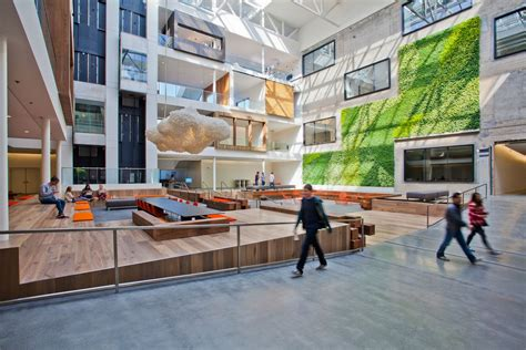 Atrium E Office by Airbnb S Innovative Hq In San Francisco Eoffice