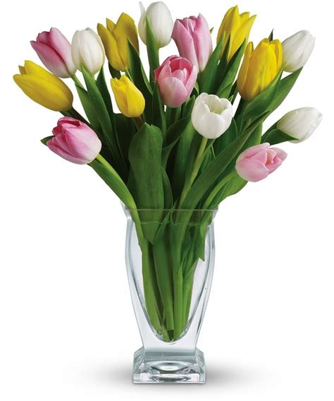 Pictures Of Tulips In Vases by Tulips