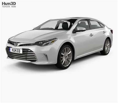 toyota 2015 models toyota avalon limited 2015 3d model hum3d