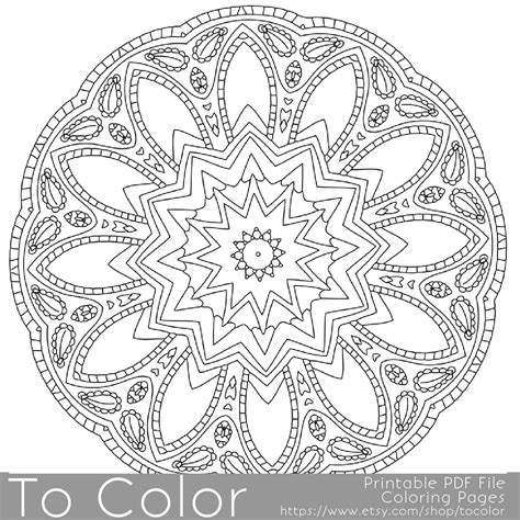 nature mandalas coloring book pdf nature flower mandala cool coloring pages mandalas book