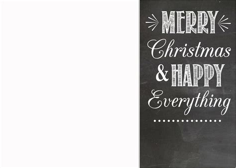 free chalkboard christmas card templates simplykierste com