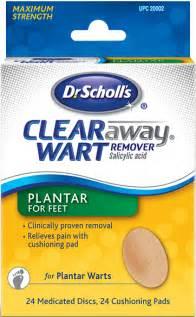 dr scholl s dr scholl s 174 clear away 174 plantar wart