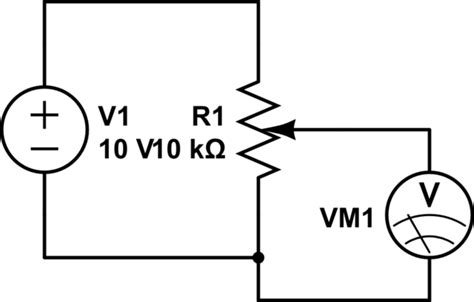variable resistor wiring diagram 10k variable resistor pin