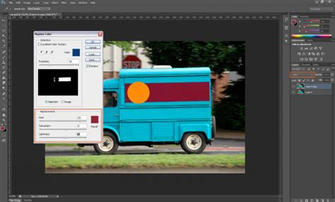 replace color photoshop tutorial how to replace a colour in photoshop 187 saxoprint