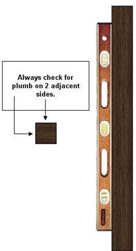 Plumb Level Square by Determining Plumb Square Level