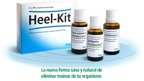 Heel Homeopathic Detox Kit by 17 Best Images About Salud Desintoxicantes On