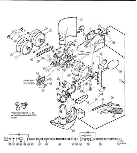 polaris pool parts diagram polaris pool cleaner polaris 360 parts diagram