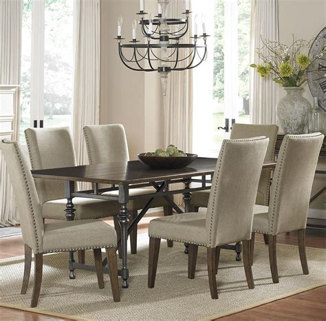 liberty dining room sets ivy park 7 piece dining table and upholstered chair set by