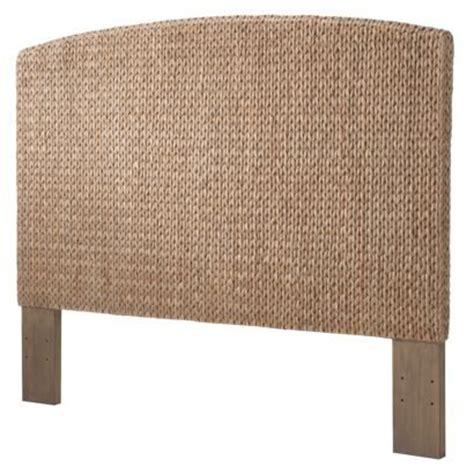 seagrass queen headboard andres seagrass headboard gray wash queen