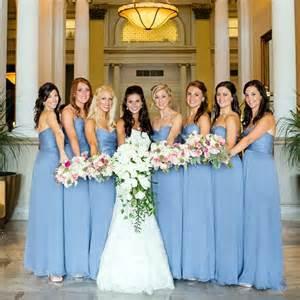 light blue bridesmaids dresses casamento pinterest