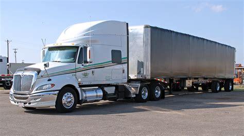 curtain van great plains trucking