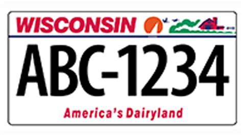 wisconsin dmv phone number new vehicle license plates in wisconsin will soon 7 characters fox6now
