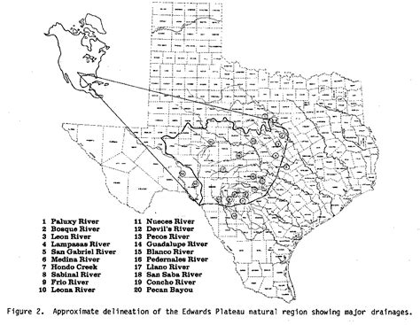 caprock escarpment texas map balcones escarpment