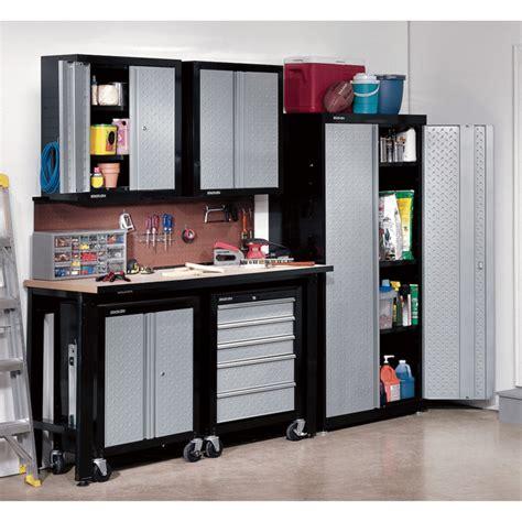 Garage Storage New Age Furniture Black Metal Garage Storage Systems Decor With