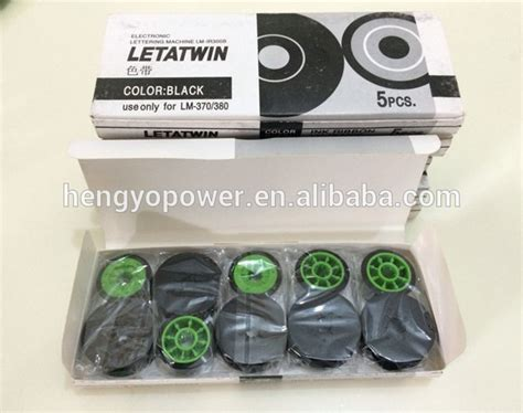 Max Letatwin Lm Ir300b Ink Ribbon max ink ribbon lm ir300b black for max letatwin electronic lettering machine lm 370e lm 380a