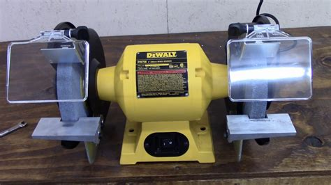 best 8 bench grinder dewalt bench grinder youtube