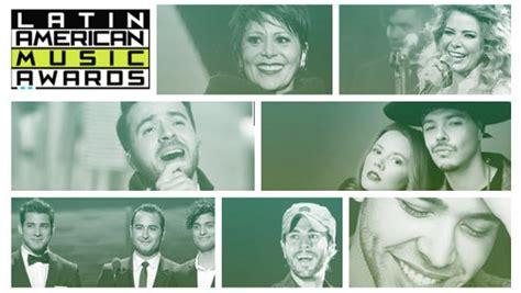esta es la lista completa de los nominados a los american awards noticias radio
