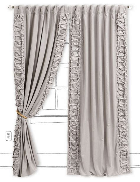 light gray curtain panels parlor curtain light gray contemporary curtains by