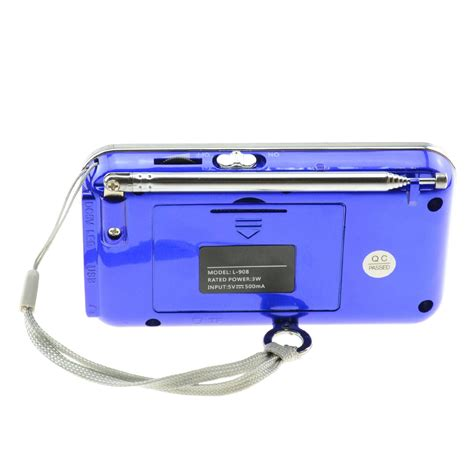 Radio Speaker Portable All In One Mp3 Usb Rolinson Rl 4028 lcd portable digital fm radio speaker usb micro sd tf card