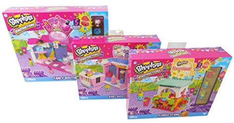 Shopkins Flower Stand shopkins kinstructions bundle flower stand baby shop
