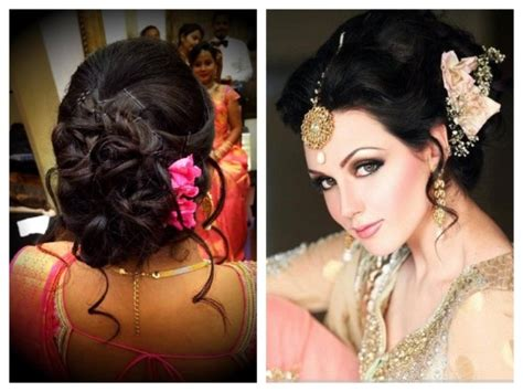 easy hairstyles for medium hair with saree easy hairstyles for long hair on saree best hair style