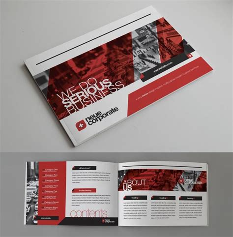 design inspiration for brochures design a creative catalog for your brand corporate
