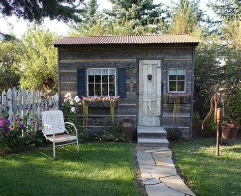 style your she shed backyard ideas she sheds green lawn rustic style and lawn