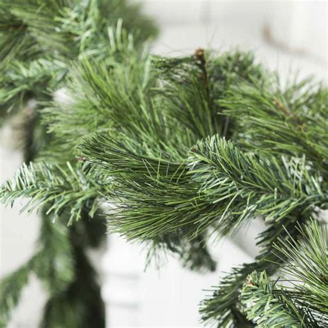 artificial evergreen garland christmas garlands