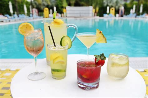 pool cocktail 5 award winning poolside drinks courtesy of the lido