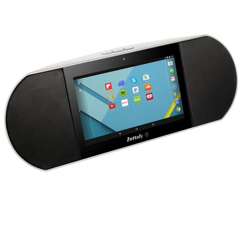 android speaker zettaly smart android hifi bluetooth speaker remote 7 0 inch hdmi