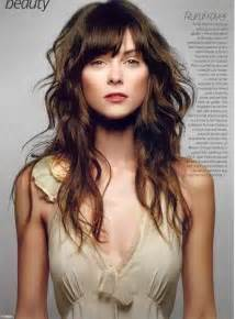 wave hair with bangs wavy hairstyles with bangs long hairstyles with bangs