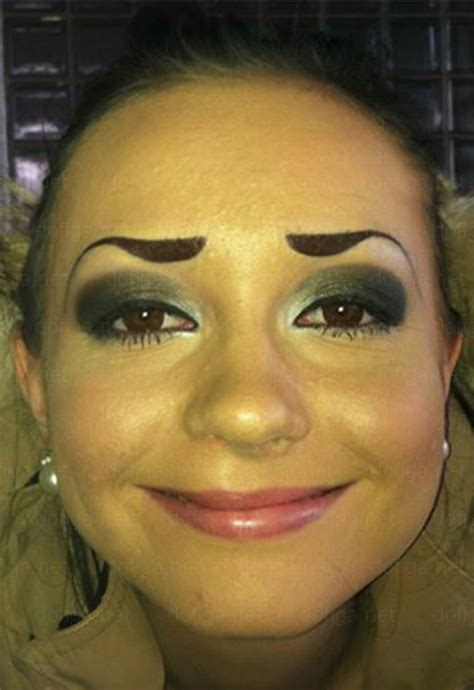 tattoo eyebrows disasters the gallery for gt worst drawn eyebrows