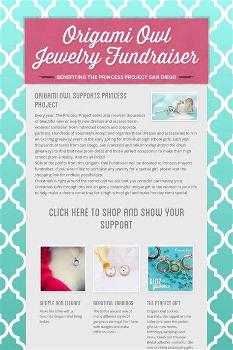 Origami Owl San Diego - origami owl jewelry fundraiser princess project san diego
