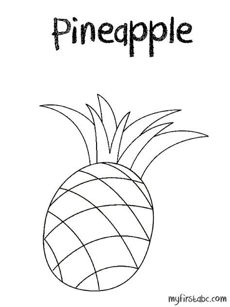 pineapple coloring page pineapple coloring page az coloring pages