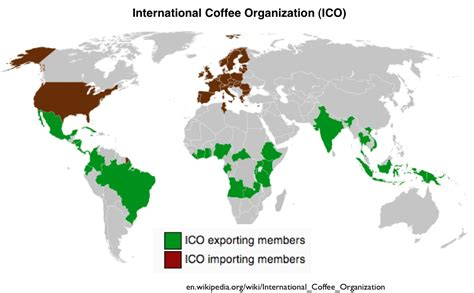 Hot, Caffeinated, and Expanding: The Global Geography of Coffee, Tea, and Yerba Mate   GeoCurrents