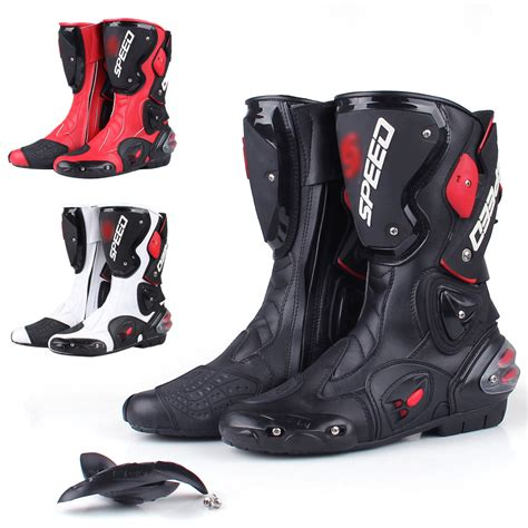 motorcycle racing boots motorcycle leather boots boot shoes waterproof