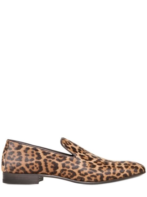 leopard loafers for laurent leopard print pony skin loafers in animal