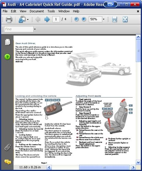 download car manuals pdf free 2007 audi a4 electronic throttle control audi a4 cabriolet quick guide