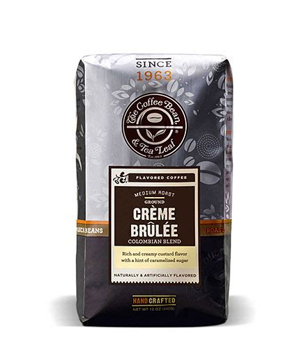 Creme Brulee Latte Coffee Bean cr 232 me brul 233 e 8oz coffee bean and tea leaf
