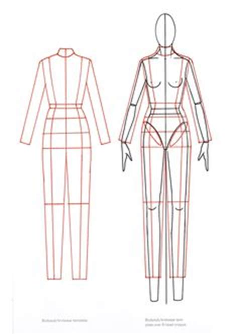 Figurine For Technical Drawing Flats Clothes And Quotes Technical Flat Template
