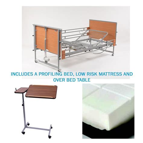 hospital bed rental cost hospital bed rental ireland includes bed mattress and overbed table
